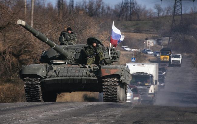 В Україну з РФ зайшли 22 танка, - штаб АТО