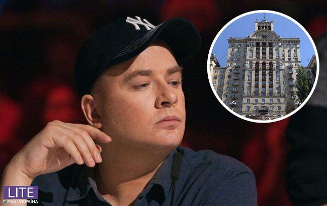 Позолота і 12 кімнат: в мережу потрапили фото трирівневої квартири Данилко в центрі Києва