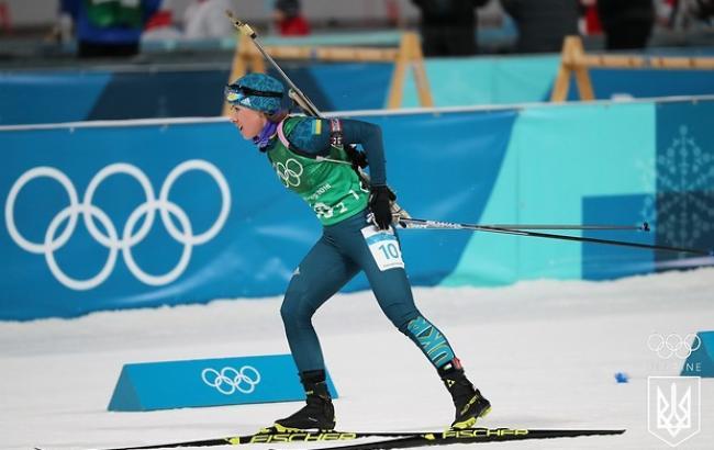 Біатлоністка Джима визнана найкращою спортсменкою грудня в Україні