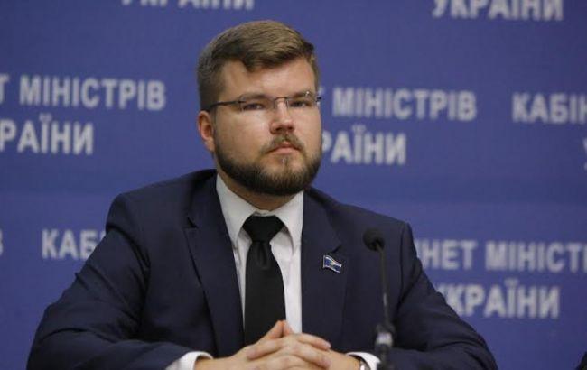 Фото: первый заместитель министра инфраструктуры Кравцов