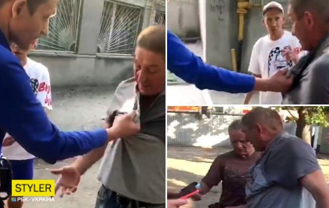 """""""Руки забери!"""": у Харкові охоронець супермаркету побив покупця"""