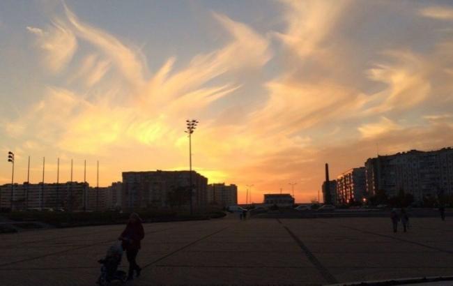 Фото: Красивое небо в Одессе (048.ua)