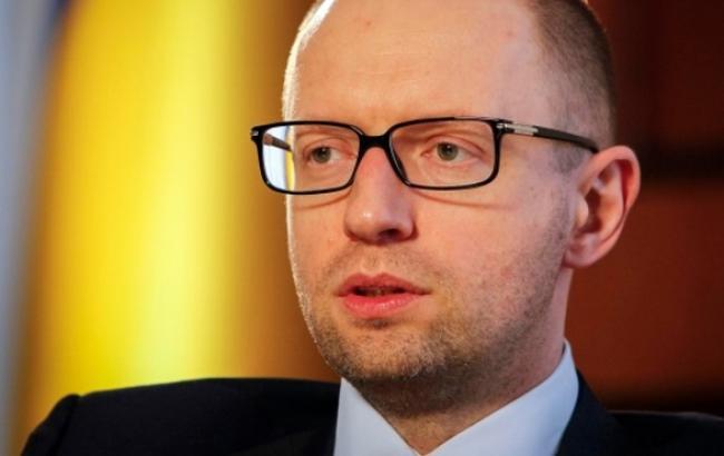 Яценюк распорядился расширить веерные отключения на зону АТО