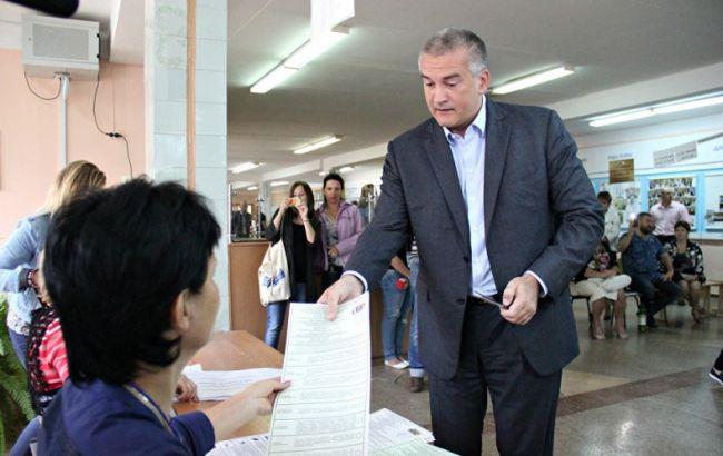 Фото: вибори в Криму