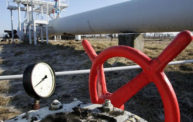 Кількість газу в ПСГ України скоротилося на 0,24% - до 15,584 млрд куб. м