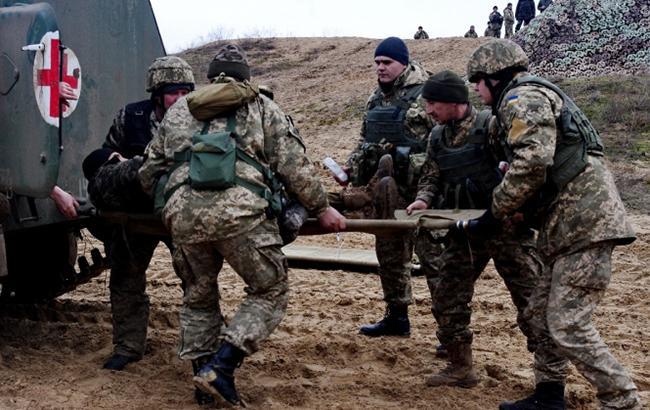 НаДонбассе ранены трое наших бойцов