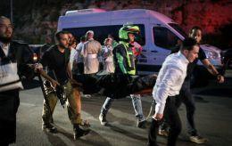 Пострадавших при обрушении трибуны синагоги в Израиле уже более 160