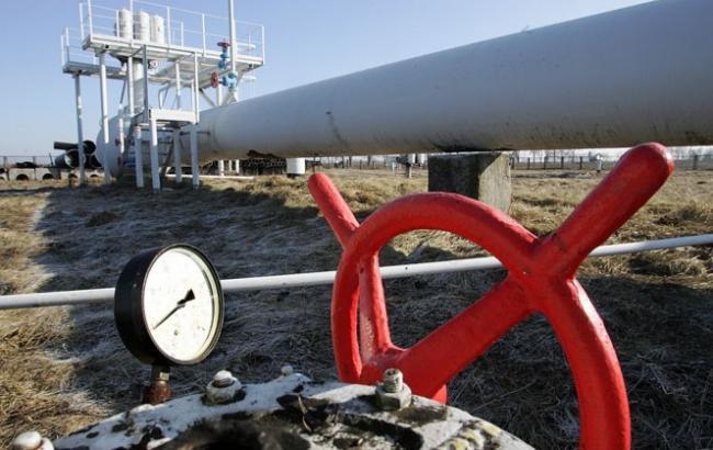 Кількість газу в ПСГ України скоротилося на 0,34% - до 15,354 млрд куб. м