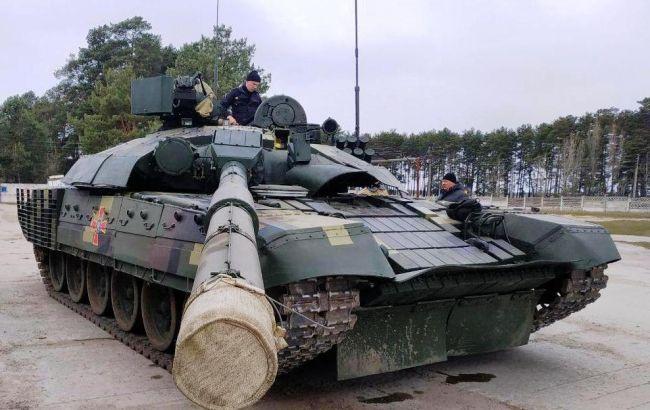 Міноборони проводить випробування модернізованоготанку Т-72