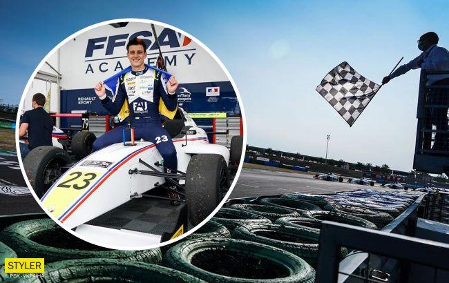 Вперше в історії: юний українець виграв Формулу-4
