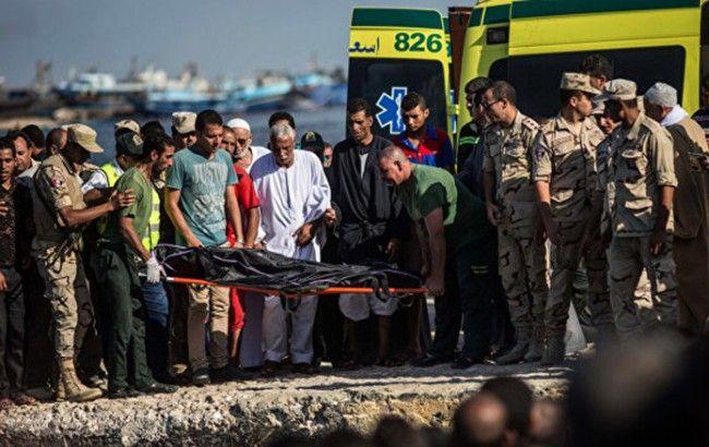 Фото: число жертв крушения судна в Средиземном море возросло до 162