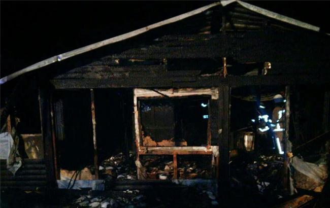 Под Львовом ночью сгорел ресторан