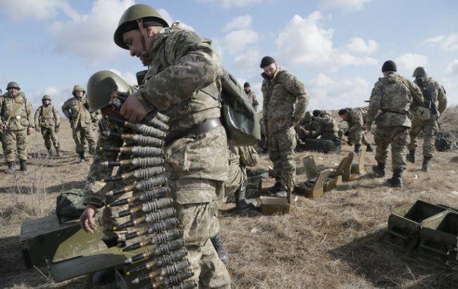 Силы АТО боевики обстреляли 95 раз
