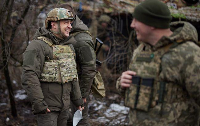Зеленський приїхав на Донбас. Відвідає передові позиції