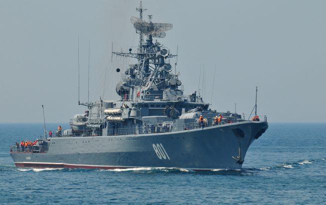 Фото: корабль РФ