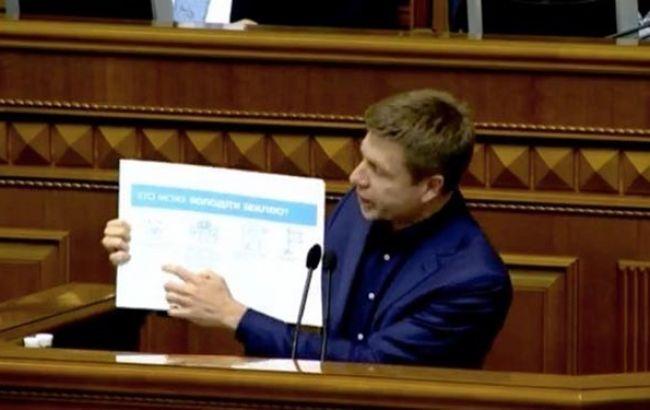 Гончаренко пояснив, в чому мінуси законопроекту про землю