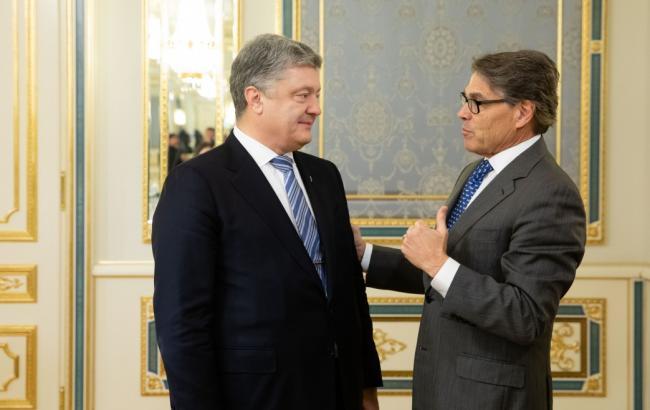 """Порошенко обсудил с министром энергетики США противодействие """"Северному потоку-2"""""""