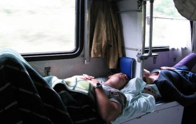 Фото: Бойца АТО отправили домой в плацкартном вагоне (ru.golos.ua)