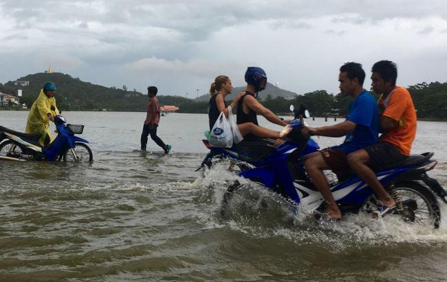 Фото: наводнение в Таиланде