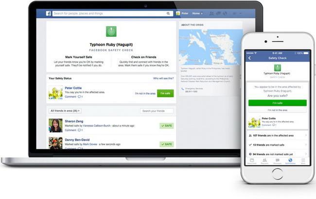 """Фото: """"Фейсбук"""" подбає про тих, хто опиниться в небезпеці"""