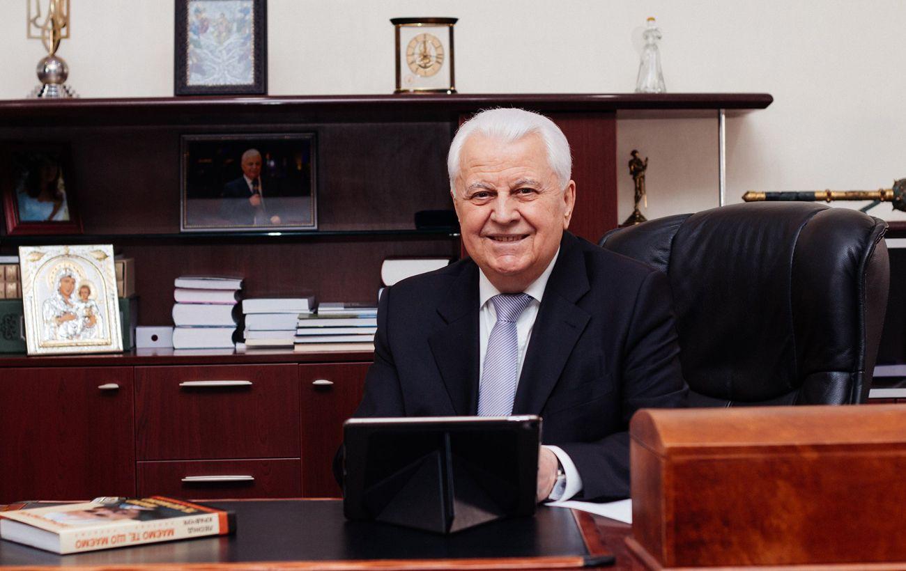 Кравчук назвал этапы реинтеграции Донбасса