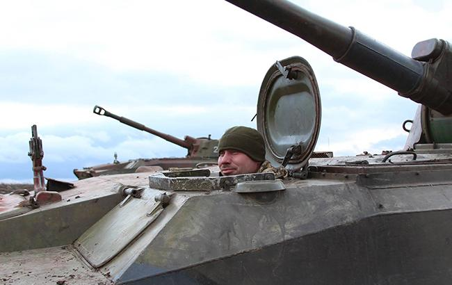 Днем на Донбассе обстрелы не зафиксированы, - штаб АТО