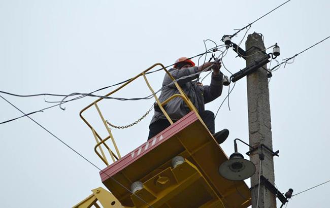 Фото: ремонт электросети (facebook.com/ato.news)