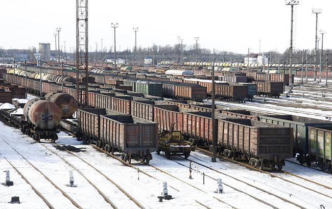 Фото: грузовые поезда (facebook.com/JSCUkrzaliznytsia)