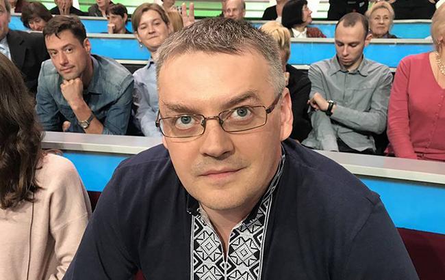 """""""Мерзотник, покажи фотографії"""": на російському каналі ведучий напав на українського політолога (відео)"""