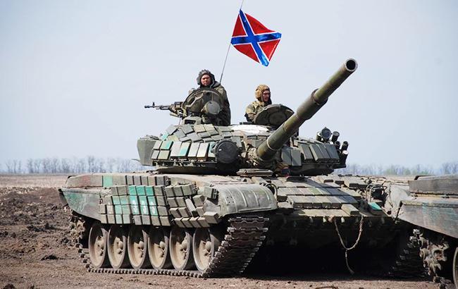 Фото: боевики на Донбассе (facebook.com abazia)