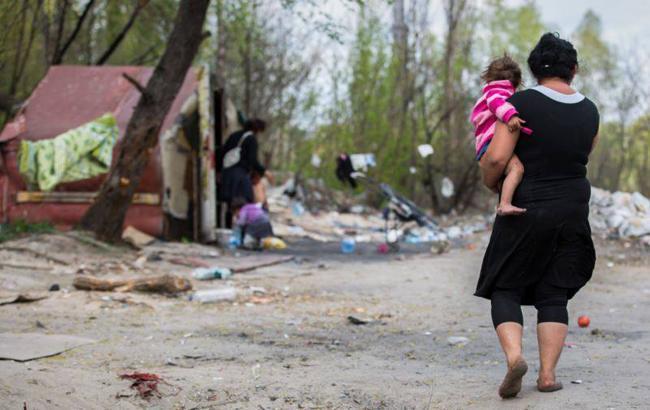 В Україні близько 5 тис. ромів ведуть кочовий спосіб життя