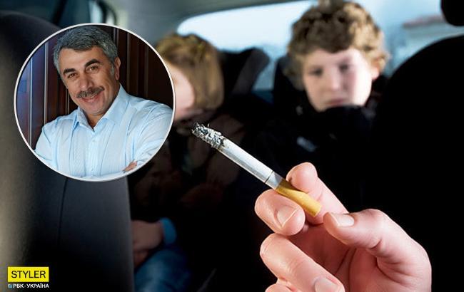 Комаровський розповів про причини та наслідки отруєння тютюном