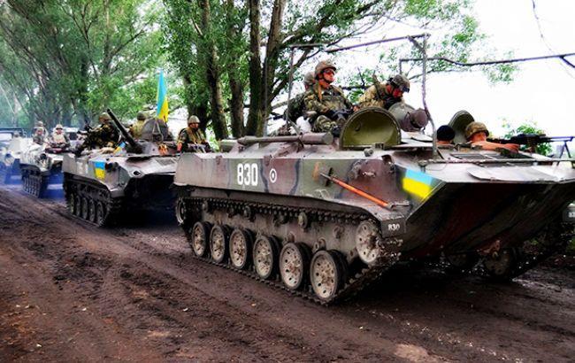 В зоні АТО за день втрат серед українських військових немає, - штаб