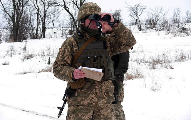 Боевики на Донбассе в течение дня придерживались перемирия, - штаб