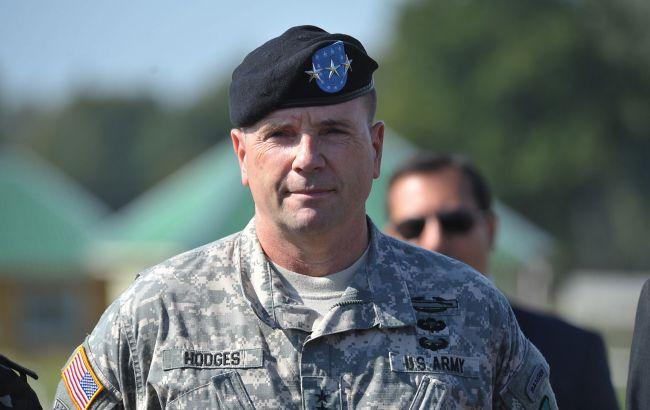 Американский генерал Бен Ходжес: Россия все еще слишком сильно влияет на Украину