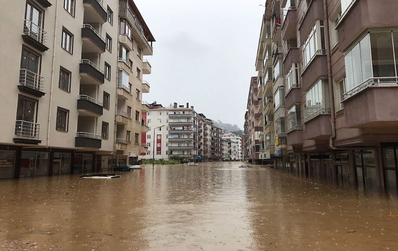 Францию накрыло мощное наводнение