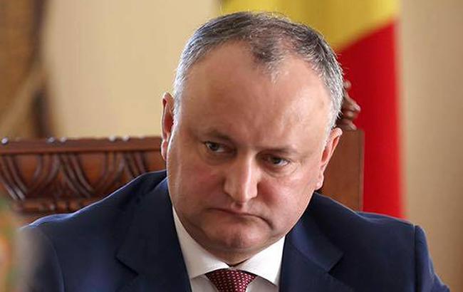 Конституційний суд Молдови недозволив Додону розширити президентські повноваження