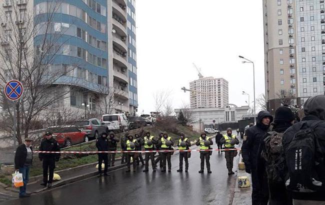 Фото: в Одессе заминировали консульство РФ (facebook.com/gunp.odessa)