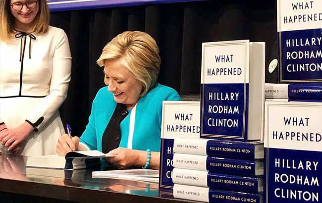 Хілларі Клінтон розповіла у своїй книзі про невдалу спробу стати президентом (фото: facebook.com hillaryclinton)