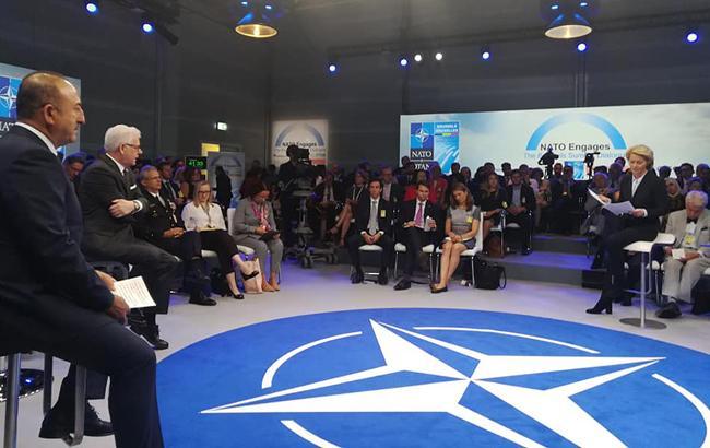 Фото: саммит НАТО в Брюсселе (facebook com iskander akylbayev)