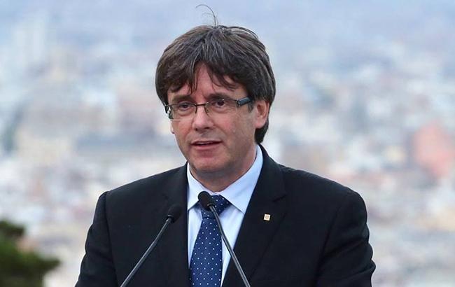 «Президент» Каталонии Пучдемон исчез вБельгии
