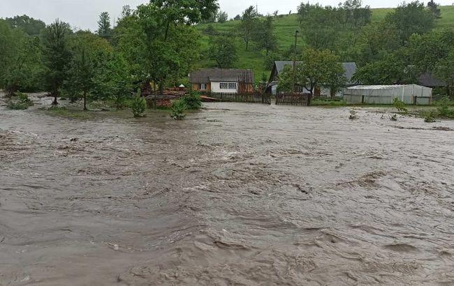 Во Львовской области из-за подъема уровня воды в реках возможно затопление домов