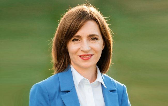Санду назвала возможные сроки визита в Украину