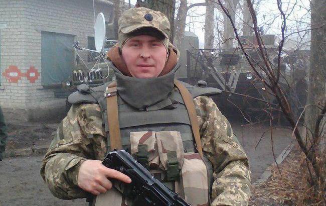Фото: Боца АТО провели в последний путь (facebook.com Memorybook.org.ua)