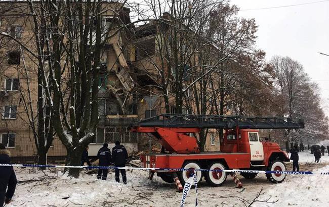 На місці вибуху в Фастові завершили пошукові роботи