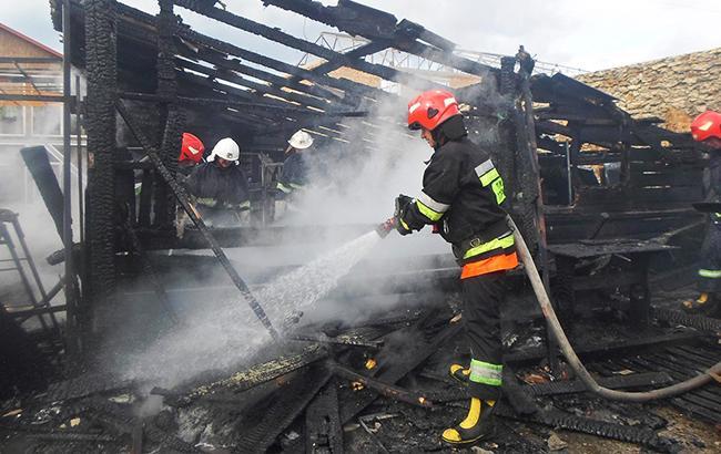 Пожар вчерниговском СИЗО: Выгорело одно избытовых помещений, эвакуировали 70 человек