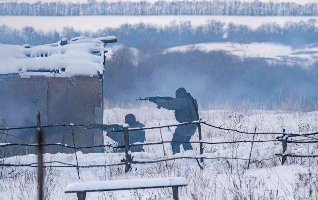 ОБСЕ зафиксировала учения с боевой стрельбой в Луганской области