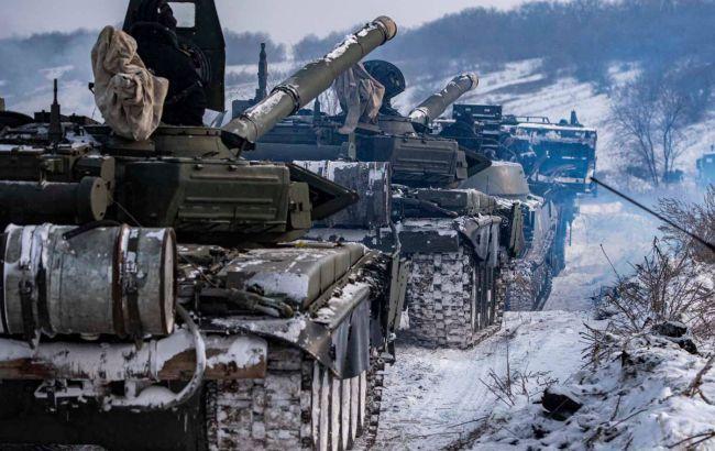На Донбассе боевики прячут танки и артиллерию среди гражданских объектов