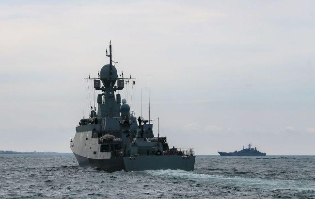 Росія виконала військові стрільби в Чорному морі на тлі навчань Rapid Trident