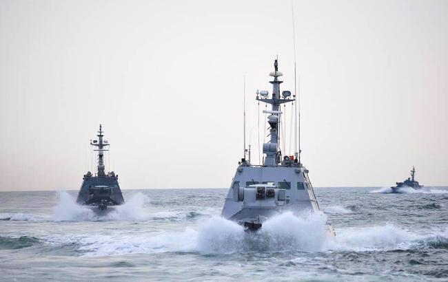 Гройсман назвал число кораблей ЕС, заблокированных в Азовском море